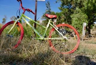 Red bike... more like rad bike!